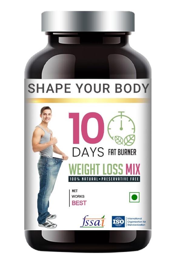 10 Days Fat Burner Product image.
