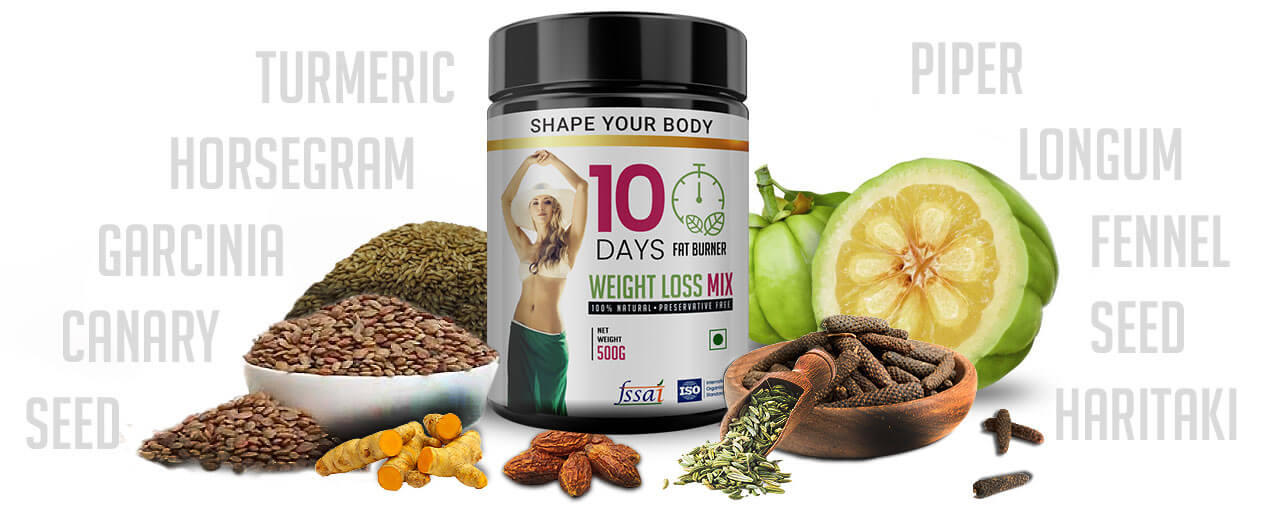 Ingredients 10 Days Fat Burner